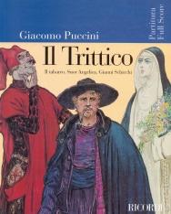 Giacomo Puccini: Il trittico partitúra