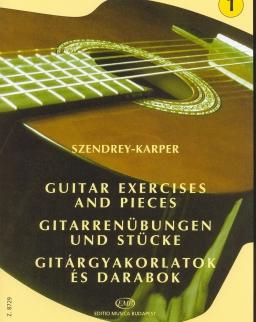 Szendrey-Karper László: Gitárgyakorlatok 1.