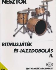 Nesztor Iván: Ritmusjáték és jazzdobolás 2. (CD melléklettel)