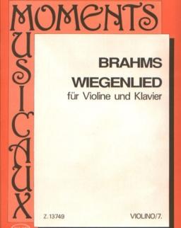 Johannes Brahms: Wiegenlied hegedűre