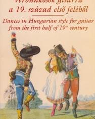 Verbunkosok gitárra a 19. század első feléből