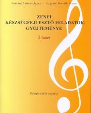 Zenei készségfejlesztő feladatok 2. - példatár és munkafüzet középhaladók számára