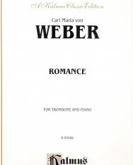 Carl Maria von Weber: Romance (harsonára, zongorakísérettel)