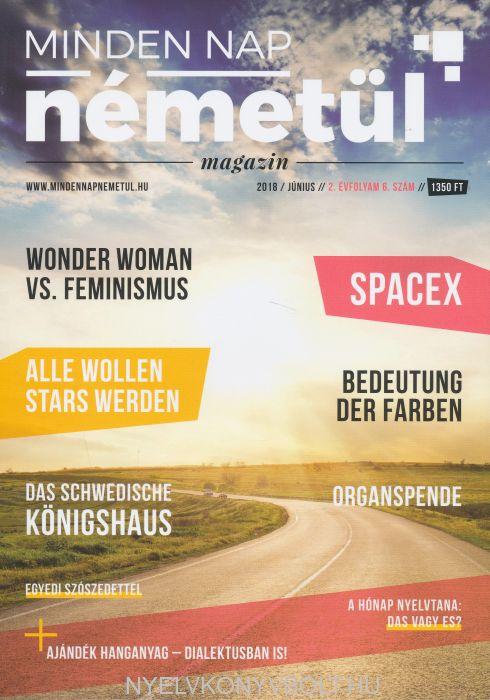 Minden nap németül magazin 2018 június