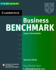 Business Benchmark Upper-Intermediate - for BEC Vantage and BULATS Editions Teacher's Resource Book