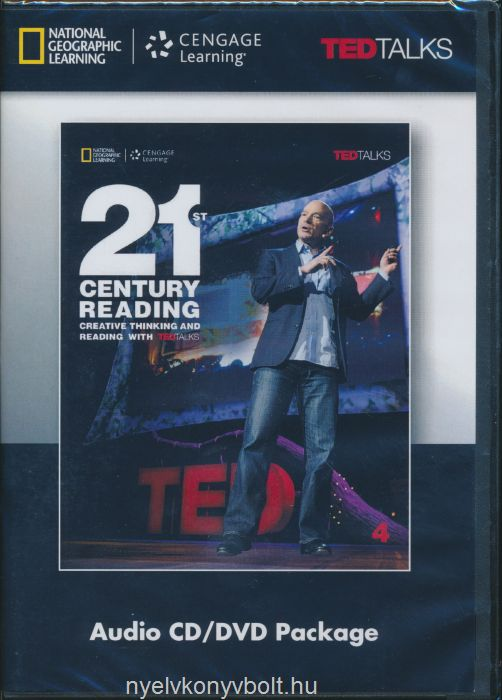 21st Century Reading 4 - Audio CD/DVD Package - Creative Thinking and Reading with TED Talks