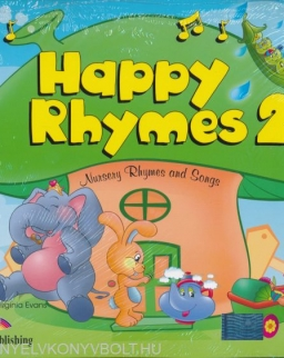 Happy Rhymes 2 Pupil's Pack (Story Book + Audio CD + DVD Video)