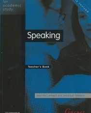 English for Academic Study - Speaking Teacher's Book