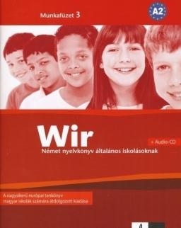 Wir 3 Munkafüzet + Audio CD A2