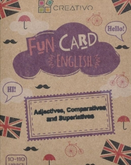 Fun Card English: Adjectives, Comparatives and Superlatives