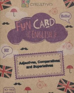 Fun Card English: Adjectives, Comparatives and Superlatives