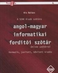 Angol-magyar informatikai fordítói szótár - Online szótárral
