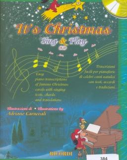 It's Christmas Sing & Play - CD melléklettel
