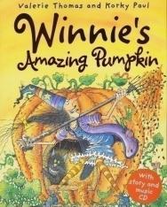 Winnie's Amazing Pumpkin with Audio CD