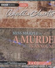 Agatha Christie: Miss Marple in A Murder is Announced - Audio Book CD