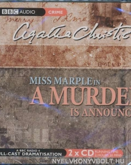 Agatha Christie: Miss Marple in A Murder is Announced - Audio Book CD