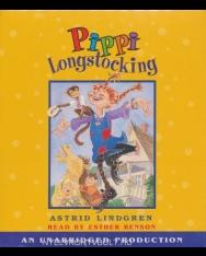 Astrid Lindgren: Pippi Longstocking Unabridged Audio Book (3 CDs)