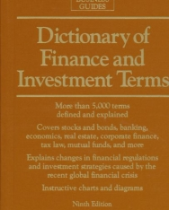 Barron's Dictionary of Finance and Investment Terms