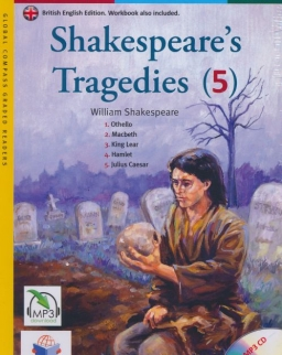 Shakespeare's Tragedies (5) with MP3 Audio CD- Global ELT Readers Level B1.2