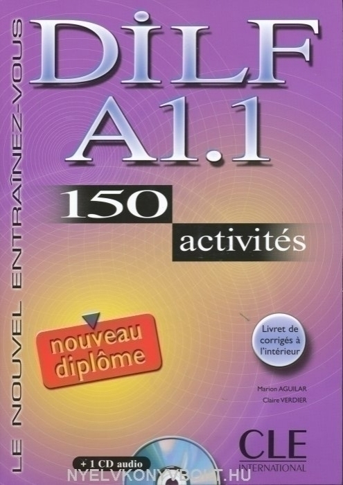 DILF A1.1 150 activités Livre + Audio CD