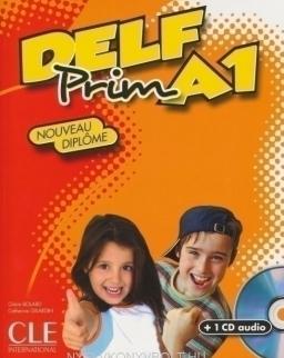 DELF Prim A1 Nouveau Diplome Livre avec CD Audio