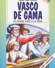 Vasco de Gama con Audio CD -  La Spiga Lecturas Para Empezar nivel Pre-inicial (A1)