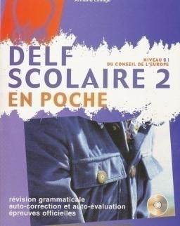 DELF Scolaire 2 + Audio CD - En Poche
