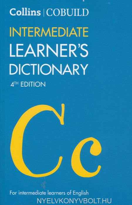 Collins Cobuild Intermediate Learner's Dictionary 4th edition