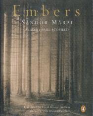 Márai Sándor: Embers Abridged Audio Book Cassettes (A gyertyák csonkig égnek angol nyelven kazetta)