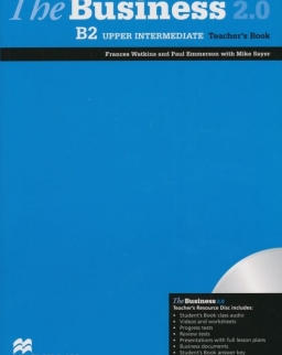 The Business 2.0 Upper Intermediate Teacher's Book B2 with Resource Disk