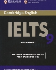 Cambridge IELTS 9 Official Examination Past Papers Student's Book with Answers