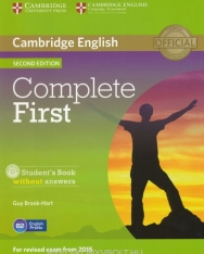 Complete First Student's Book without Answers & CD-ROM
