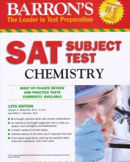Barron's SAT Subject Test Chemistry 12th Edition