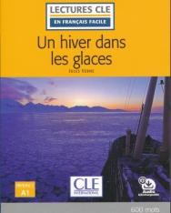 Un hiver dans les glaces - Niveau 1/A1 - Lecture CLE en français facile - Livre + Audio téléchargeable