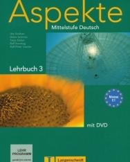 Aspekte 3 Lehrbuch mit DVD - Mittelstufe Deutsch Niveau C1