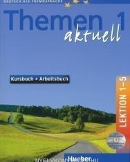 Themen Aktuell 1 Kursbuch und Arbeitsbuch Lektion 1-5 mit CD-ROM