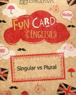 Fun Card English: Singular vs Plural