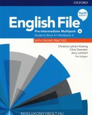 English File 4th Edition Pre-intermediate Student's Book/Workbook Multi-Pack A