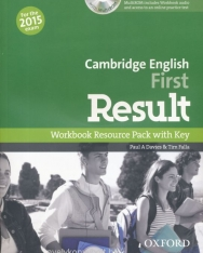 Cambridge English First Result Workbook Resource Pack wirth Key and with MultiROM