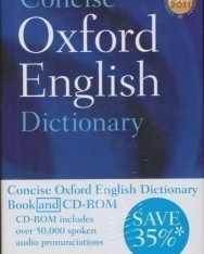 Concise Oxford English Dictionary with CD-ROM - 12th Edition