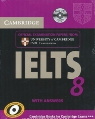 Cambridge IELTS 8 Official Examination Past Papers Student's Book with Answers and 2 Audio CDs Self-Study Pack