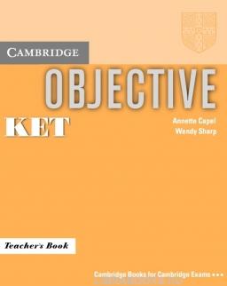 Objective KET Teacher's Book