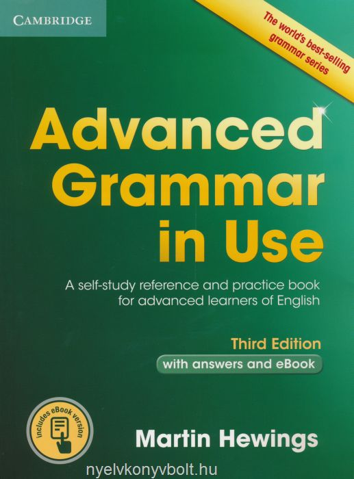 Advanced Grammar in Use with answers and EBook - Third Edition