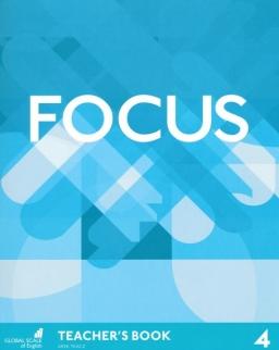 Focus 4 Teacher's Book with Multirom & Word Store