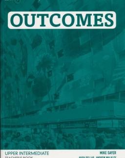 Outcomes 2nd Edition Upper Intermediate Teacher's Book with Class Audio CDs (3)