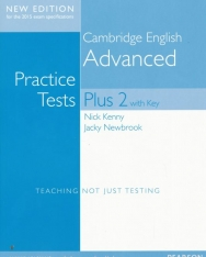 Cambridge English Advanced Practice Test Plus Volume 2 with Key - New Edition for the 2015 Exam Specifications