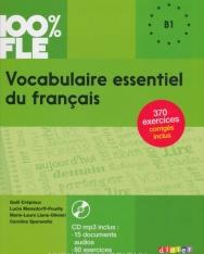 100% FLE - Vocabulaire essentiel du français niv. B1 - Livre + CD