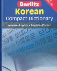 Berlitz Korean Compact Dictionary - Korean-English English -Korean