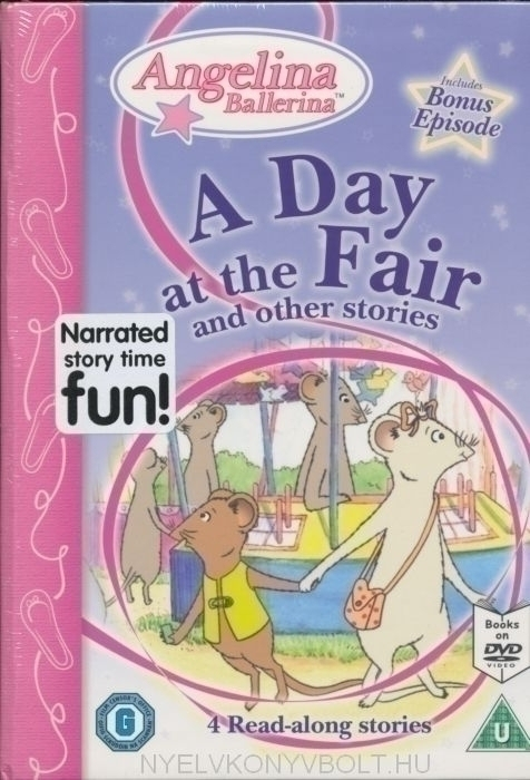 Angelina - A Day at the Fair and Other Stories [Interactive DVD]