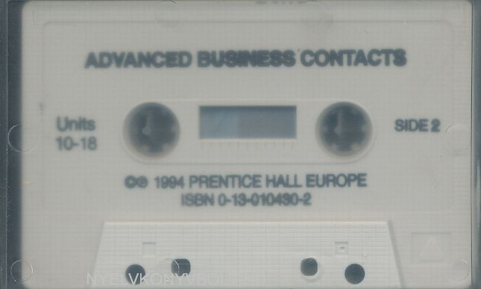 Advanced Business Contact Cassette